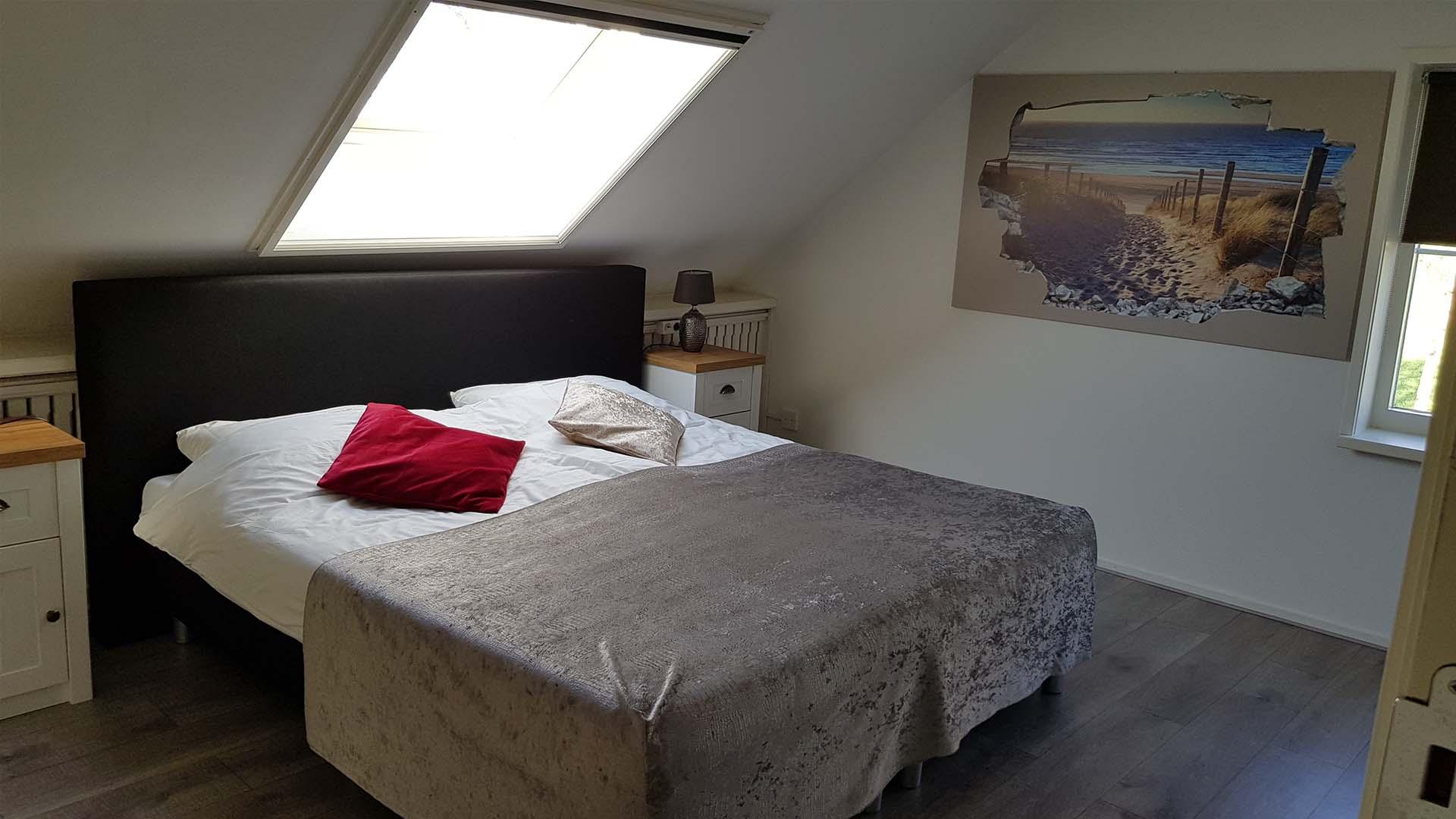 kamer 1 bed B&B Plompetorenzicht Burg-Haamstede Zeeland