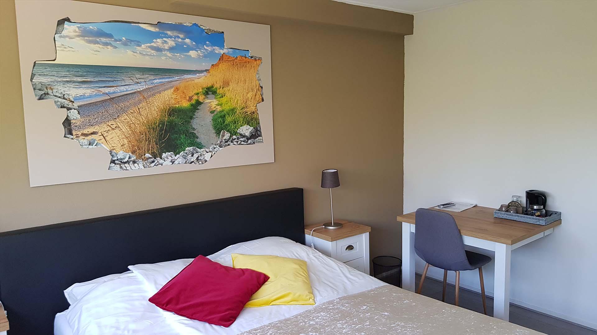 kamer 3 bureau B&B Plompetorenzicht Burg-Haamstede Zeeland
