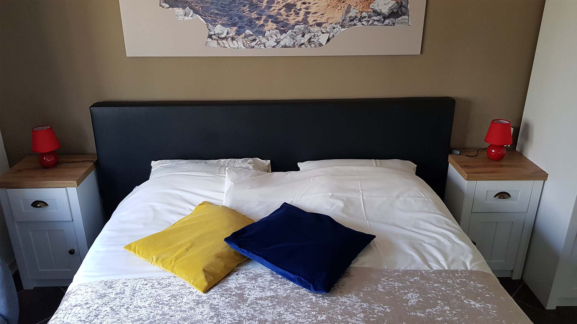 kamer 9 bed B&B Plompetorenzicht Schouwen-Duiveland Zeeland